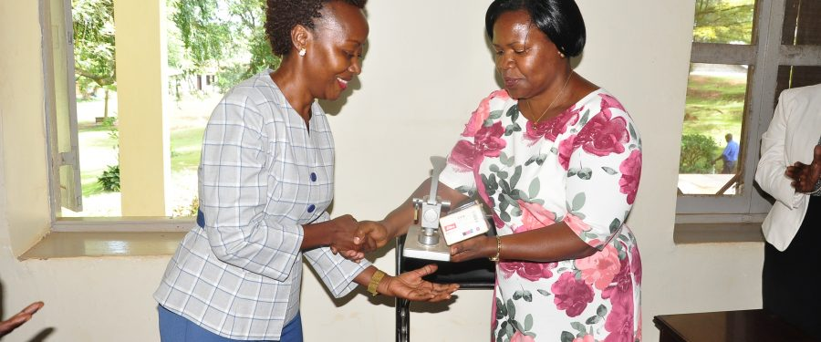 New Dawn at GHS: Mrs. Robina Kizito is the New C.E.O