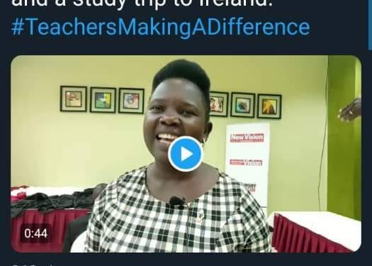 G.H.S Teacher 2nd Best in Teachers Making a Difference, 2019